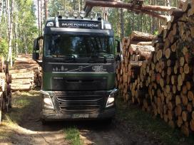 Brangiai superkame miškus ir medieną.