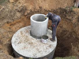 Betoninių žiedų pardavimas. Kanalizacijos kasimas - nuotraukos Nr. 9