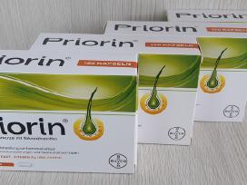 Vokiški Priorin Vitaminai plaukams 120+chi Dovanu