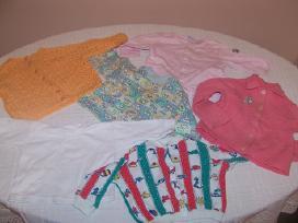 Dukrytės dėvėti drabužėliai nuo 0 iki 12mėn - nuotraukos Nr. 2