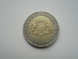 Latvijos Respublikos monetos - nuotraukos Nr. 6
