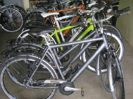 Labai didelis dviračių pasirinkimas