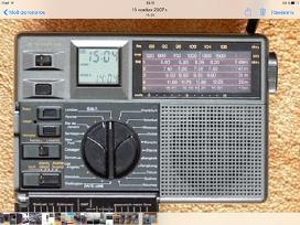 Salut 001,sony Icf 7600g ,saba, JVC, sony.