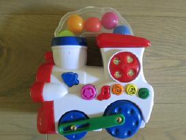 Muzikinis traukinukas važiuoja, groja, šviečia - nuotraukos Nr. 6