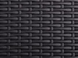 Juodas Sulankstomas Sodo Stalas 180 cm, vidaxl
