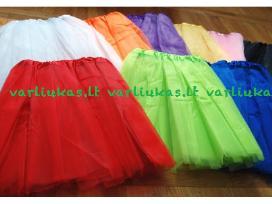 Tutu sijonai merginoms, mergaitėms, 3 sluoksnių