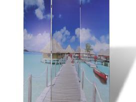Kambario Pertvara su Paplūdimio Vaizdu, 120 x 180