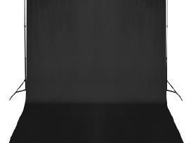 Fono Tvirtinimo Sistema su Juodu Fonu 300 x 300 cm