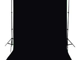 Juodas Fonas 300 x 300 cm, vidaxl