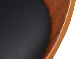 Modernaus Dizaino, Dirbtinės Odos/medinė Kėdė