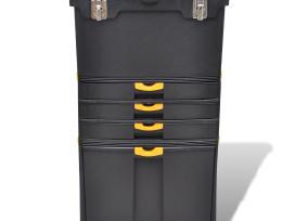 Įrankių Dėžė-lagaminas su Ratukais, vidaxl