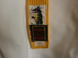 """Kimono su """"Rucanor Matsuru"""" geltona dirza."""