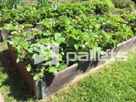 Šarnyriniai apvadai, rėmai, bortai daržo lysvėms