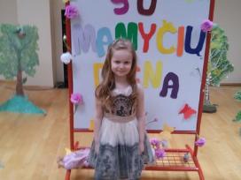 Puošni,prabangi mergaitiška suknutė