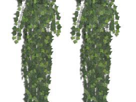 2 Žalios Spalvos Dirbtinės Gebenės 241366.vidaxl