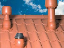 Ventiliacijos įrenginiai stoge