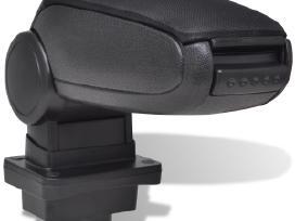 Juodas Automobilio Porankis - Skoda Fabia Mk1