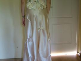 Graži kreminė suknelė 38 dydžio