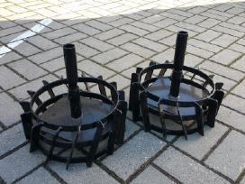 Metaliniai ratai kultivatoriui