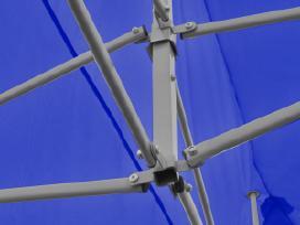 Mėlyna Sulankstoma Proginė Palapinė 3x6 m, vidaxl