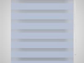 Zebra Žaliuzė, Roletas 70 x 120 cm, Baltas, vidaxl