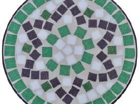Stovas Augalams su Mozaika, vidaxl