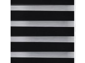 Zebra Žaliuzė, Roletas, Juodas.240196.vidaxl - nuotraukos Nr. 2