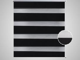 Zebra Žaliuzė, Roletas, Juodas.240196.vidaxl - nuotraukos Nr. 3