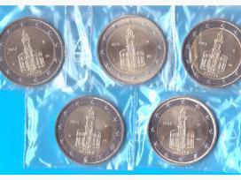 Vokietija 2 euro 2015 Hessen A-d-f-g-j