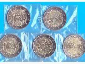 Vokietija 2 euro 2013 Elysee Treaty A-d-f-g-j