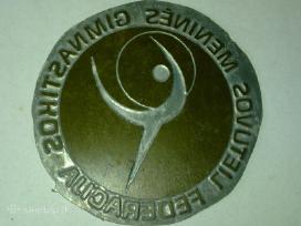Lietuvos meninės gimnast.federac.medalio forma