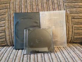 Dvd-CD dezutes,labai daug,yra baltu ,juodu .