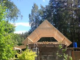 Stogų dengimas, senų namų renovacija