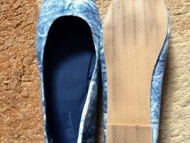 Dailūs džinso imitacijos medžiaginiai bateliai