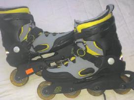 K.2 Salomon Fila Rollerblade Nike riedučiai 44-45d