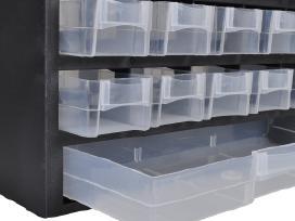 Plastikinė Spintelė Įrankiams su 41 Stalčiumi