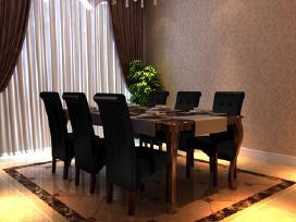 6 Valgomojo Kėdės, Juodos, vidaxl