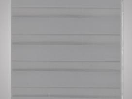 Zebra Žaliuzė, Roletas 70 x 120 cm, Pilkas, vidaxl