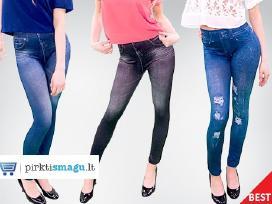 Figūrą dailinantys Slim n Lift Jeans tamprės: 3vnt