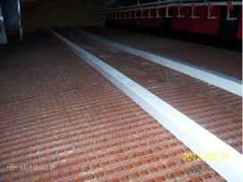 Plastikinės grindų grotelės ( mėšlo dangtis )