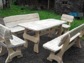 Nauji uosiniai lauko baldai