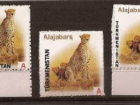 "Parduodu Turkmenistano ženklus tema ""fauna """