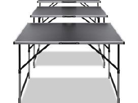 3 Sulankstomi Darbo Stalai, Reguliuojamas Aukštis