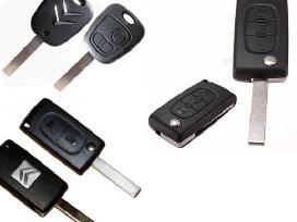 Peugeot raktai 307 407 206 607 207 raktas korpusai - nuotraukos Nr. 4