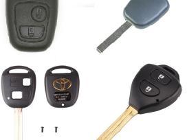 Peugeot 307 407 607 206 406 207 raktas korpusai