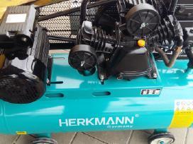 Oro kompresoriai Herkmann,varikliai dizeliniai,ben