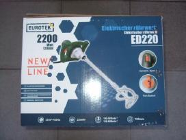 Naujos Skardos žirklės Eurotek Ms 255- Super kaina