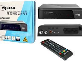Skaitmeninė TV imtuvai, antenos,laikikliai,kabelis