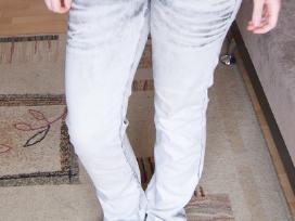 Pilkšvi House jeans džinsai