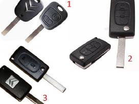 Audi raktai A1 A2 A3 A4 A5 A6 A7 A8 Tt Q7 korpusai